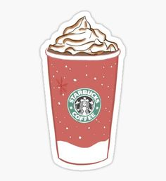 starbucks christmas cups Sticker Christmas stickers featuring millions of original designs created by independent artists. Homemade Stickers, Food Stickers, Phone Stickers, Diy Stickers, Printable Stickers, Starbucks Christmas Cups, Starbucks Wallpaper, Chibi Kawaii, Red Bubble Stickers