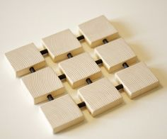 Square Wood Trivet : 8 Steps (with Pictures) - Instructables Small Woodworking Projects, Small Wood Projects, Scrap Wood Projects, Woodworking Tips, Wood Crafts, Design Design, Modern Design, Kitchen Decor, Hot Pads