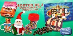 Sorteo de 2 super lotes de productos navideños