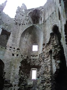The ruin of Winterfell,