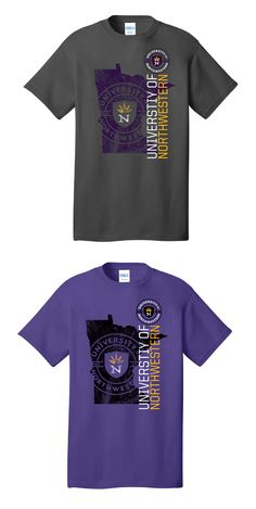 6537da53 Custom Apparel Designs · U of Northwestern state fair 17 60521  #northwestern #bible #christian #college #