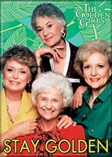 Ata-Boy The Golden Girls 'Stay Golden' x Magnet for Refrigerators and Lockers