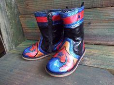 Hand Painted Childs Western Cowboy Boots for the by JJsBottega, $29.00  For additional detail www.etsy.shop/com/jjsbottega