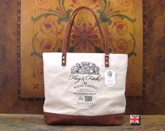 BF Flog & Fitch Tote by Bravura Textile & Leather Goods
