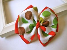 Cute Christmas Hair Bows 2012 For Girls & Kids | Holiday Accessories