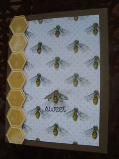 Sweetest Bee by ruby-heartedmom - Cards and Paper Crafts at Splitcoaststampers