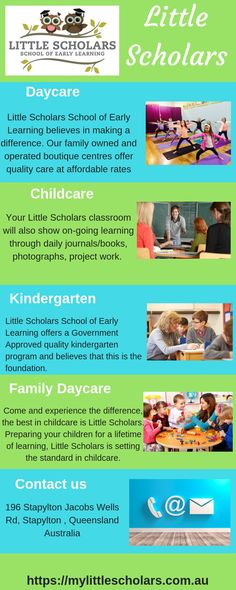 Little Scholars School of Early Learning believes in making a difference. Our family owned and operated boutique centres offer quality care at affordable rates, with skilled educators and premium facilities to meet the needs of every Little Scholar. Learning Centers, Early Learning, Childcare, Kindergarten, Preschool, Believe, Classroom, Meet, Boutique