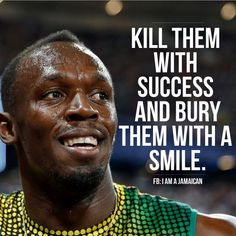 Usain bolt - motivational quote