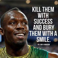 Usain bolt - motivational quote