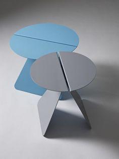 "thedesignwalker: ""Sheet metal #stool #furniture """