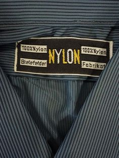 Shirt NYLON men's TRUE VINTAGE unworn DEADSTOCK Size M (HV2454*) | eBay