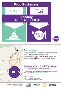 Plan Zheroes: Inspiring London organisations to become zero food waste heroes