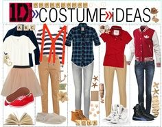 """diy one direction crafts   One Direction Costume Ideas!"""" by every-girl-has-a-tip liked on ..."""
