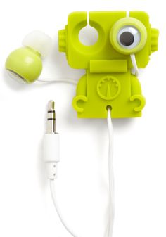 Earbuds Robot by Kikkerland