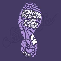 Fraternity Philanthropy Sigma Kappa 5k Footprint South By Sea