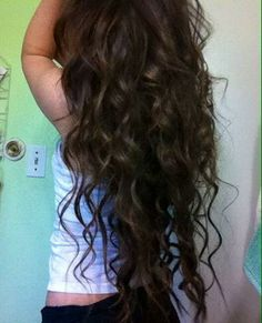 This is exactly how I want my hair every day.
