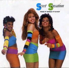 Sweet Sensation - Take It While It's Hot. I loooooved them! 80s Music, Music Mix, Freestyle Music, Old School Music, 90s Outfit, Hottest 100, Girl Bands, Female Singers, My Favorite Music