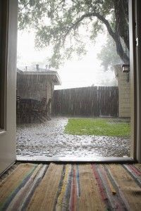 If you're building a #NewHome or fixing up an old one, you will want to think about how the rain is affecting you.