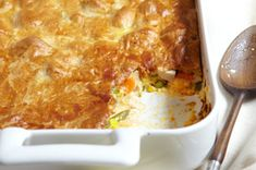 Cheesy chicken pot pit - I call you dinner!