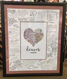 We do these all the time! A Signature and Autograph Picture Mat, framed, a great idea for Weddings, Baby Showers, Reunions, Co Workers and Bosses leaving, a great good bye gift.#lowryframer www.lowryframer.com