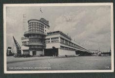 The Ocean Terminal, Southampton Dock. What a fantastic building