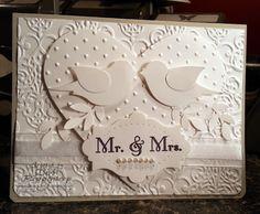 Debbis Design Stamping: Bridal Birds