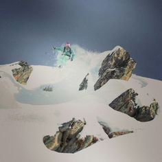 Freeride Piste Brytnest in Bellwald The Mont, Rocky Mountains, Alps, Switzerland, Mount Everest, Italy, Sport, Country, Travel