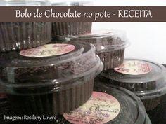 Bolo de Pote de Chocolate da Rosilany - Receita | Creative