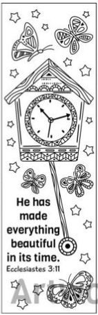 6 Coloring bookmarks #bookmarks #coloring | Printables and ...