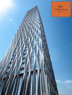 No. 1 Yorkville #Toronto condo #tower by Bazis and Plaza.
