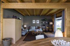 Arredare gli interni di una casa in legno? Richiede solo tanta fantasia