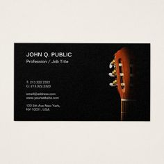 Acoustic guitar lessons template free chord chart business card guitar teacher music lessons pearl finish luxe business card reheart Image collections