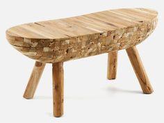 Ławka Floc — Ławki LaForma — sfmeble.pl  #wood  #natural  #homedesign #furniture