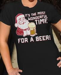 Image result for christmas beer shirt