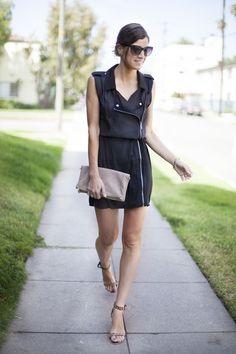 Una tarde en Los Angeles. Black dress. Street style outfits. Looks de street style. Fashion Blogger.