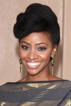 Naturally Flawless - Hairstyle File: Teyonah Parris's Natural Style