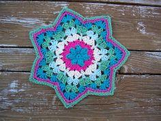Free Pattern: Granny RR Dish Cloth