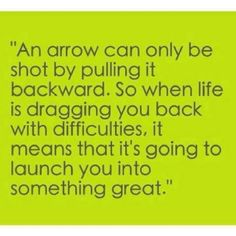 Arrows and targets!