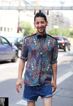 shirt by designer Fritz Rama