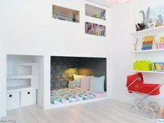 Le lit dans une petite niche • Hellocoton.fr