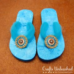 flip flops restyled.. omg I love this!!