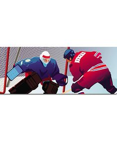 Look what I found on #zulily! Hockey LightHeaded Beds Headboard Insert by LightHeaded Beds #zulilyfinds