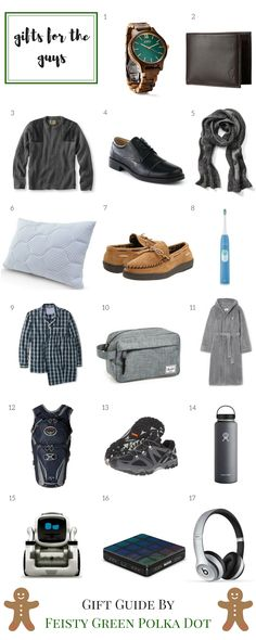 Great Gifts For The Guy In Your Life Http Www Feistygreenpolkadot