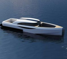 #Luxury #Super #yacht #Tender #Limousine. Boat #Design ... 32 foot yacht limousine best tender #award show boat design... Able to host 12 passengers  crew and sports a lavish interior similar to an upscale automobile. Looks simple but there's more to it than what the eyes reveal in the pic.  #travel #love #live #life #motivation #desire #aspire #inspiration #devotion #