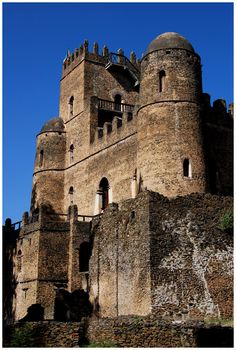 Fasilidas' Castle - Gonder, Amara, Ethiopia Copyright: John Paskey