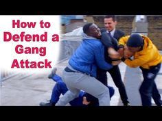 How to fight someone bigger and stronger than you - YouTube