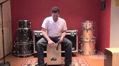 Cajon Drumming with a Brush