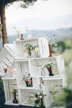 Photography: Lelia Scarfiotti - leliascarfiotti.com  Read More: http://www.stylemepretty.com/little-black-book-blog/2014/05/09/romantic-al-fresco-umbria-wedding/