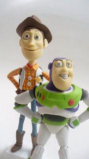 woody toy story en porcelana fria - Buscar con Google