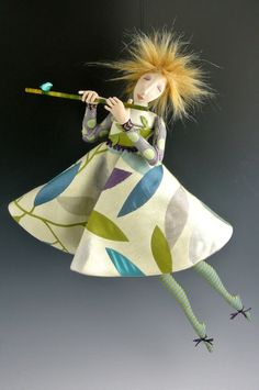 Aria - Original Art Doll by Cindee Moyer